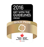 2016 Get With The Guidelines Stroke Gold Plus® Quality Achievement Award