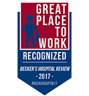 Becker's Hospital Review 150 Great Places to Work in Healthcare