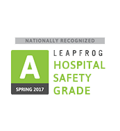 "Leapfrog 7th consecutive ""A"" Safety Score"