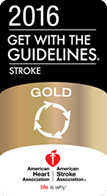 American Heart Association Get with the Guidelines Stroke Gold