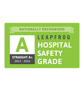 Leapfrog A-Grade Hospital Safety Score
