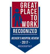 Becker's Hospital Review 150 Great Places to Work in Healthcaree