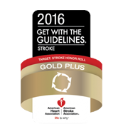 American Heart Association Get with the Guidelines Stroke Gold Plus