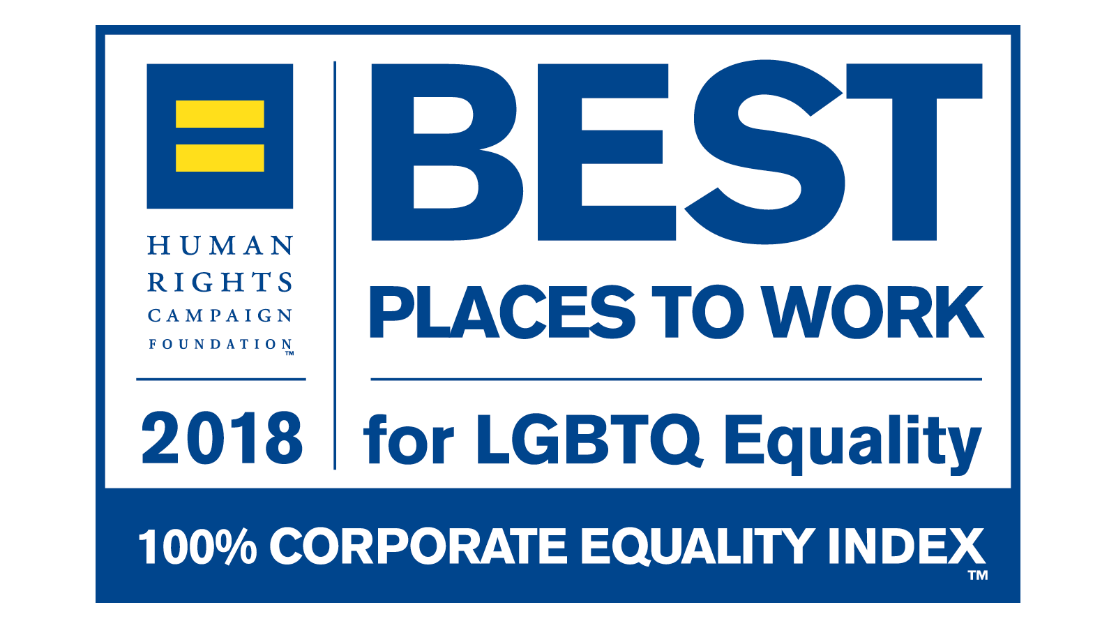 Perfect Score on Corporate Equality Index