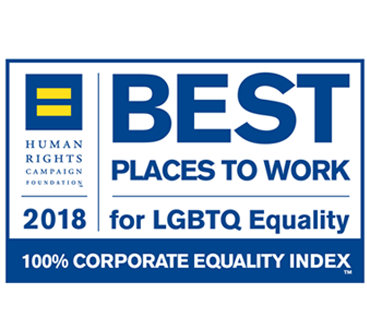 2018 Best Places to Work for LGBT Equality